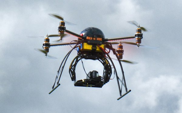 New Aerial Camera Platform From Coptermotion