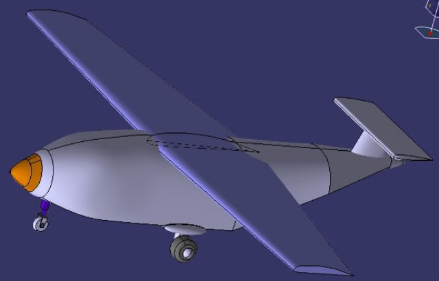 unmanned aerial vehicle thesis