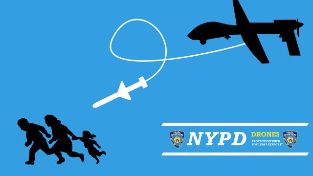 Nypd Removes Fake Big Brother Uas Ads Near Occupy Wall
