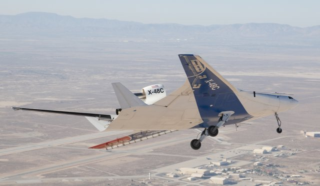 nasa x 48 drone aircraft - photo #5