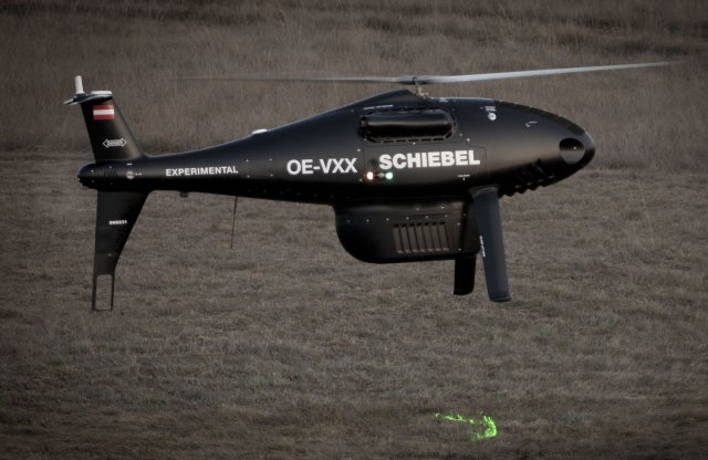 Schiebel CAMCOPTER S-100 – Successful Integration with Riegl's New
