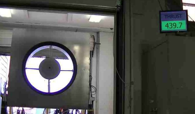 Aurora Electric Ducted Lift Fan Completes High Powered