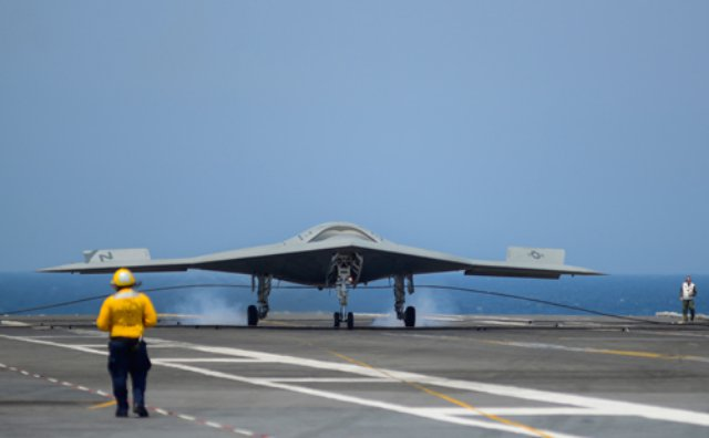The U S Navy Will Likely Map Out The Future For A New Armed Carrier Based Drone As Part Of Its Fiscal 2017 Budget Proposal After Completion Of A