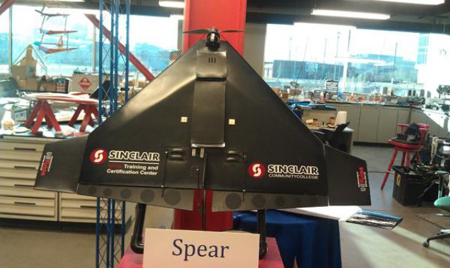 Sinclair Gets Faa Approval To Fly Uas At Wilmington Air
