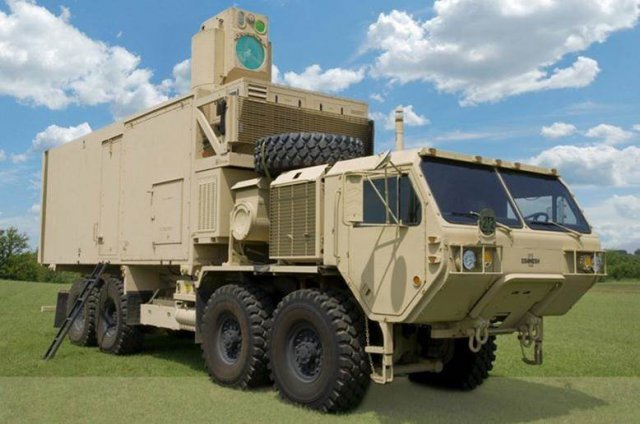Us Army Vehicle Mounted Laser Successfully Demonstrated