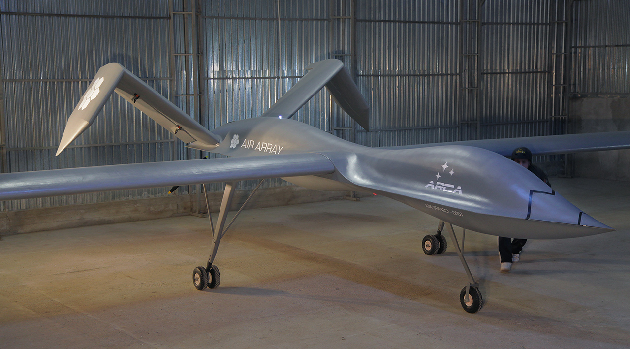 Stratospheric Electric Powered Uas From Romania Uas Vision