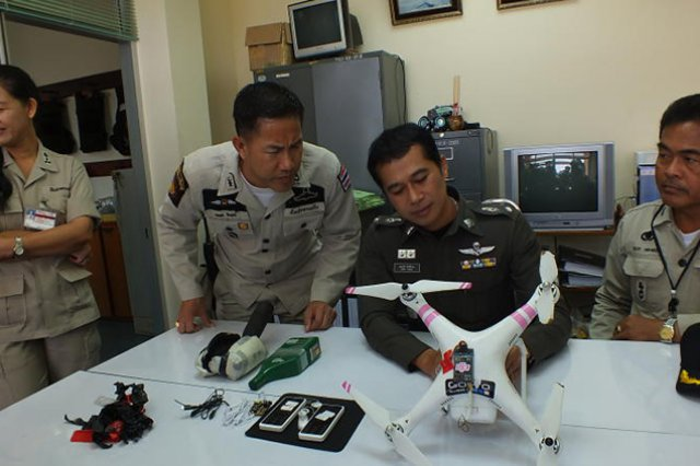 Dji Phantom Caught Smuggling Phones Into Bangkok Jail