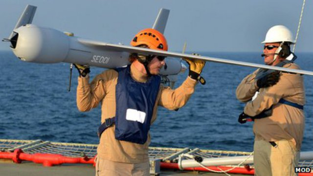 ScanEagle Royal Navy