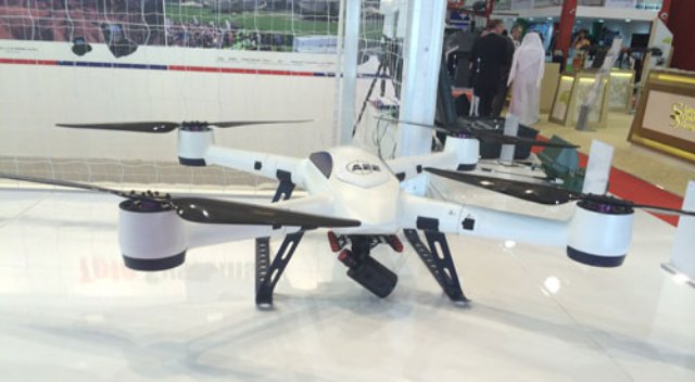 At IDEXs New Unmanned System Exhibit UMEX AEE Technology Co Ltd Promoted Its F100 And F50 Quad Copters Used By The Chinese Military Both Drones Cruise