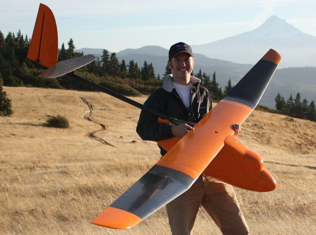 Rob Coatney With Gooney Bird UAV