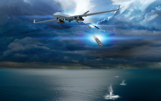 Mq 9 Guardian Gets New Maritime Capability Uas Vision