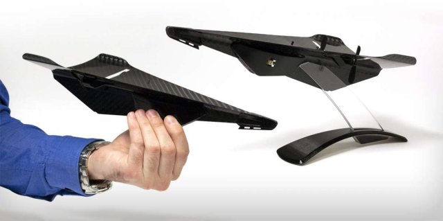 Carbon Fiber Drone Looks Like A Tough Paper Airplane Uas