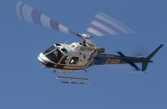 Highway Patrol Helicopter In Close Call Uas Vision