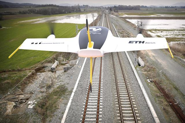 Swiss VTOL Fixed Wing Drone Unveiled – UAS VISION