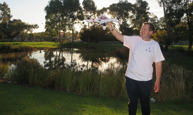 Drones to take on water