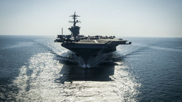 Aircraft Carrier Gets Uas Command Centre Uas Vision