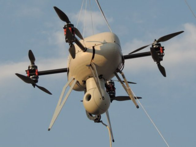 South Africa S Paramount Unveils Tethered Uav Uas Vision