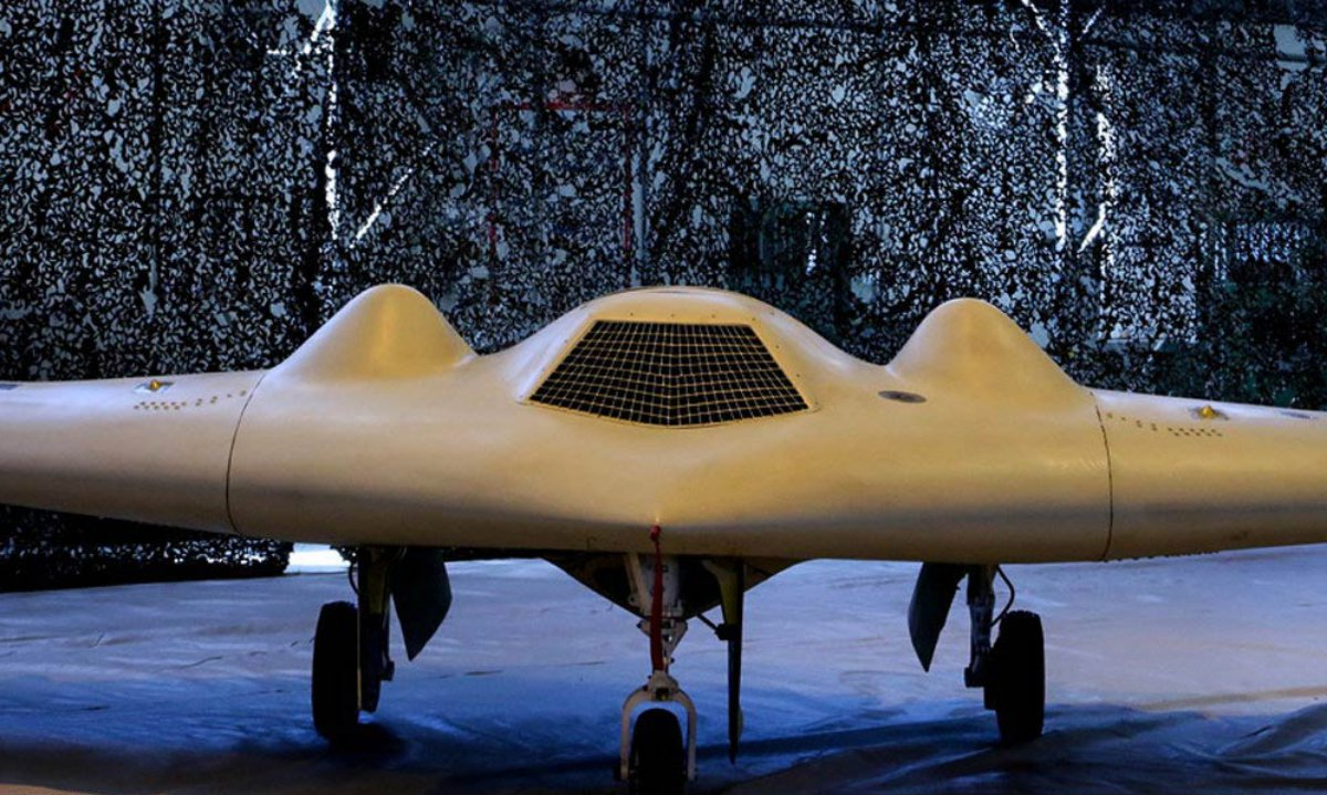 iranian drone with Irans Irgc Unveils New  Bat Drone on Bard  iran besides Russia Threatens Us Forces Calls America An Obstacle To Defeating Isis In Syria additionally Shahed 129 Uas besides New Photos And Video Of Irans Homemade F 313 Qaher Stealth Jet Have Just Emerged And Heres A First Analysis also 122mm Bm 21.