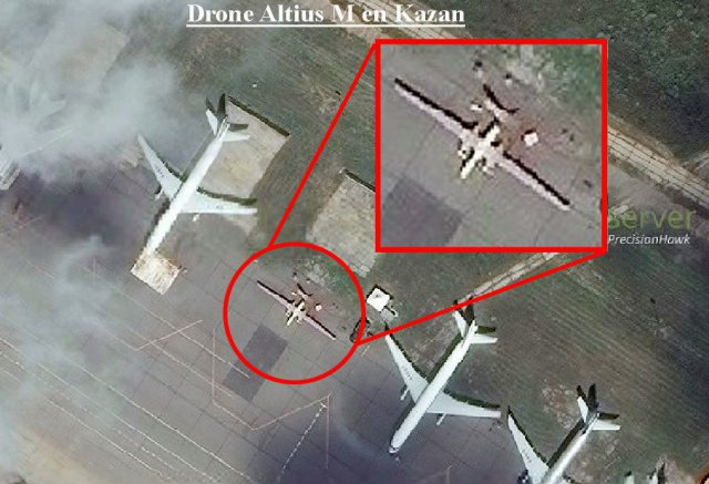 Russian AltiusM LongRange UAV Spotted At Airfield UAS VISION - Drone maps google