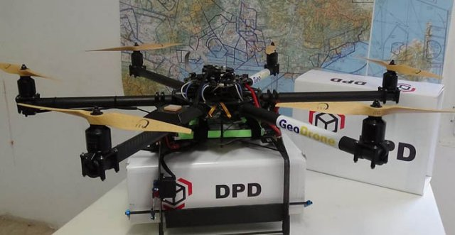 French Postal Service Begins Drone Deliveries UAS VISION