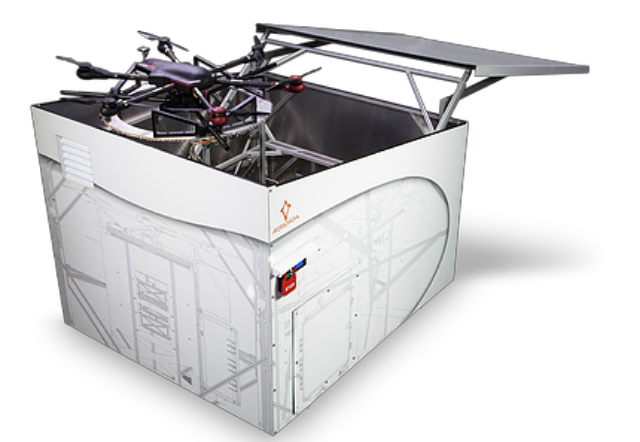SmartDrone101: Automated Drone Ground Stations by Airmada