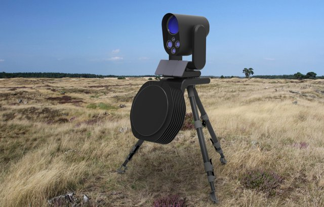 Rafael Adds Laser Intercept Capability To Drone Dome Uas