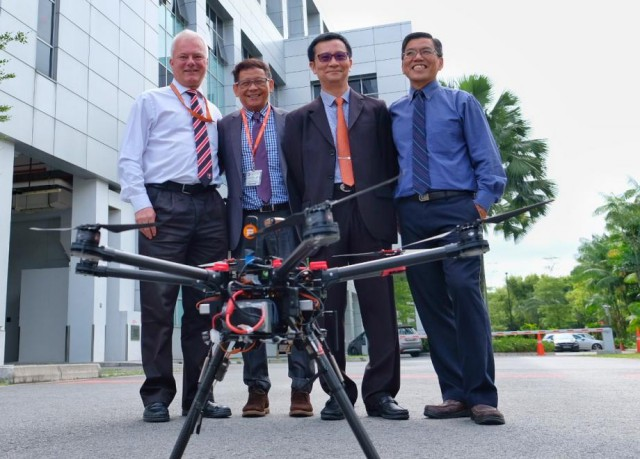 NTU Singapore Uses 4 5G Network for Drone Traffic Management
