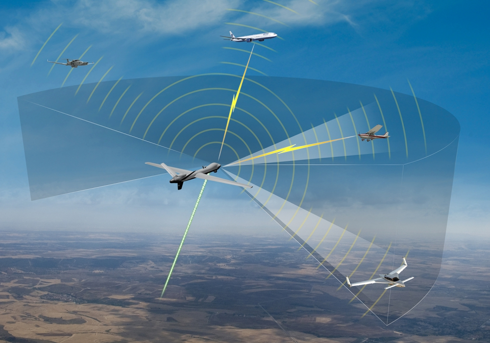 First NASA Large UAS Flight in Public Airspace without Chase