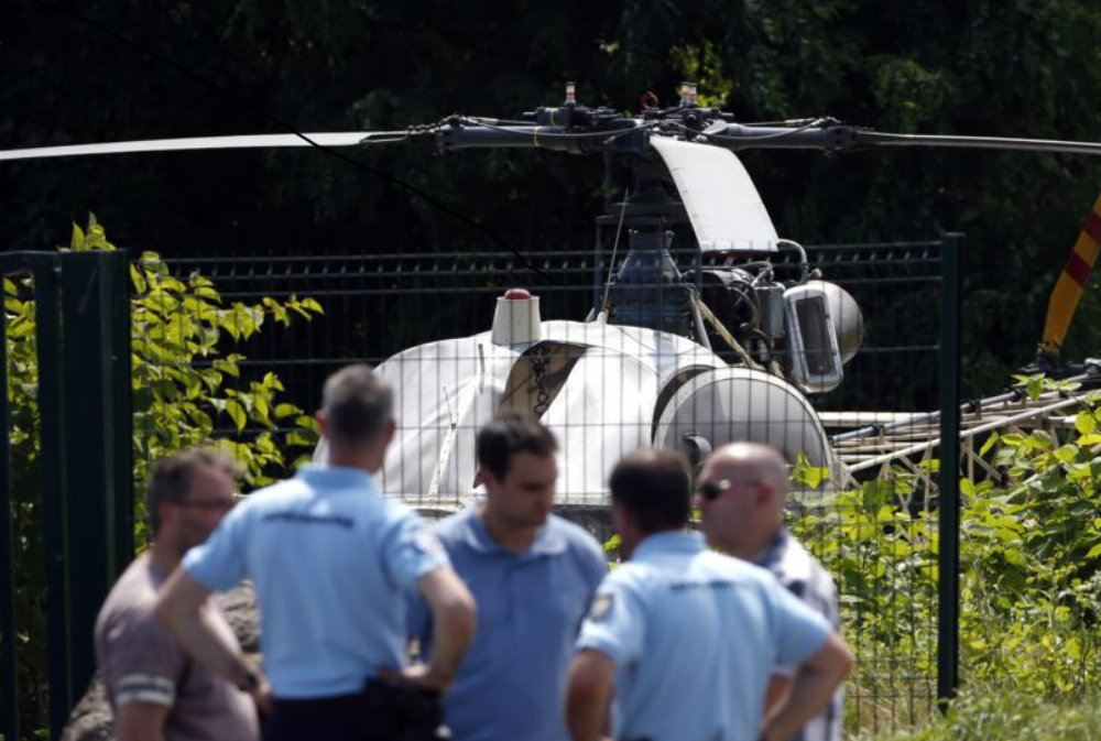 Drones Buzzed French Prison Prior to Helicopter Escape UAS VISION