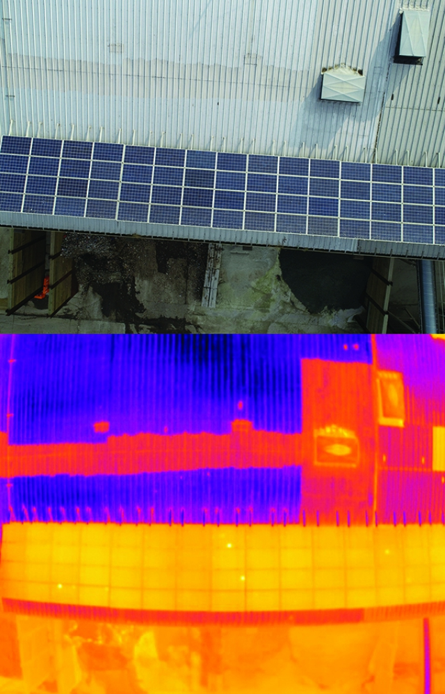 Using Infrared Drone Technology To Inspect Solar Panels